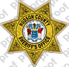 Sticker Sheriff Hudson County Sheriff Department Badge M C Graphic Decals