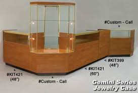 jewelry display cases with lighting