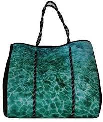 Abby Marshall AM15 Rockpool Tote, Turquoise, 42cm x 36.5cm x 15cm:  Amazon.com.au: Fashion