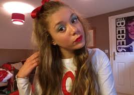 cheerleading hair and make up for