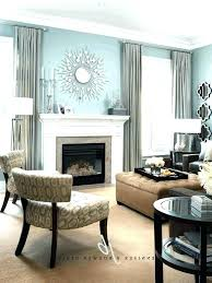 living room mantel decor hanging ideas