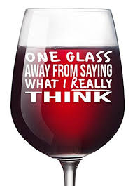 funny wine glass unique wine gifts