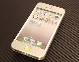 The Iphone 5s Gold Vinly Decal Gadgetsin