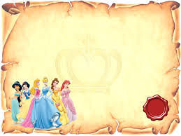 Disney Princess Free Printable Invitations Or Photo Frames