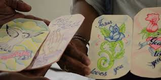 s c inmates make gifts cards for