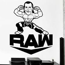 Wwe Wall Decals Products For Sale Ebay