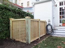 Town Country Fences Llc Heating And Air Enclosure Or Trash Bin Enclosure