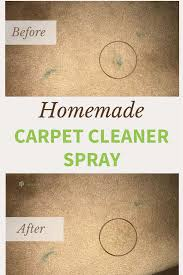 carpet cleaner solution and spray