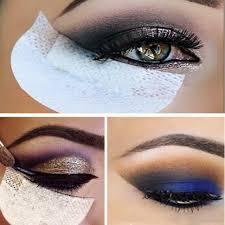 100pcs beauty eye shadow shields guards