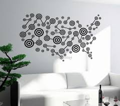 Newest Design Usa Map Wall Decal Art America Atlas Travel Vinyl Stickers For Living Room Wall Tattoo New Style Mural Decor La542 Stickers For Sticker For Living Roomvinyl Stickers Aliexpress