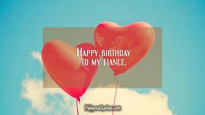 happy birthday to my fiance hoopoequotes