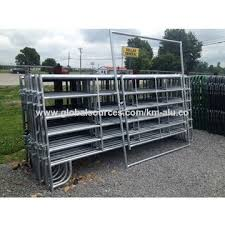 China2017 High Quality 1 6 2 1m Corral Panels Used Horse Fence Panels Galvanized Livestock Metal Fence On Global Sources