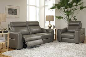 htl real leather power reclining