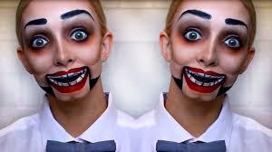 creepy dummy makeup