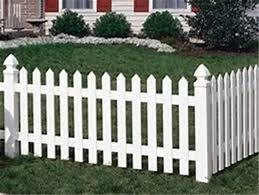 Cape Cod Vinyl Picket Fence 3 Ft H X 6 Ft W