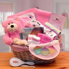 baby basics new baby gift basket pink