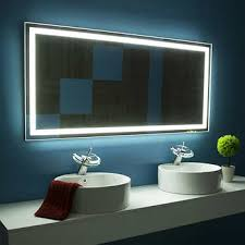 mirror bathroom illuminated l e d