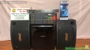 Bộ dàn âm thanh ,nghe nhạc,karaoke , Loa BMB 455,Amply 506N Giá rẻ ...
