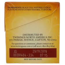 twinings earl grey black tea 25 tea