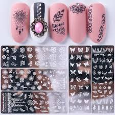 nail sting image plate nail art