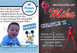 Invitaciones Cumpleanos Infantiles Personalizadas 100 00 En