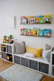 Ikea Kallax Hack Storage Benches For A Playroom Storage Kids Room Kid Room Decor Bedroom Design
