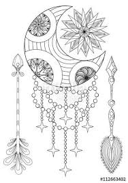 Dream Catcher Coloring Pages For Adults Pages For Adults On