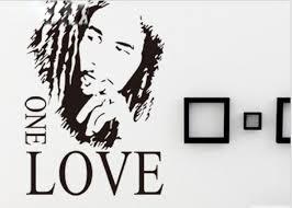 Bob Marley One Love Removable Vinyl Wall Buy Online In Cayman Islands At Desertcart