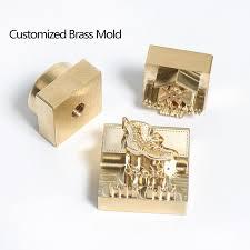 2020 diy gift customized logo hot brass