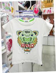 size 2 đến 10 tuổi áo phông Kenzo thời trang hè bé trai | Sản phẩm