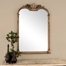 uttermost jacqueline gold wall mirror