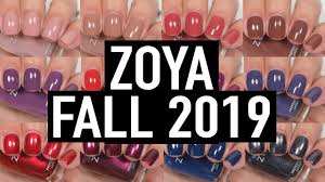zoya fall 2019 swatch review