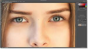 how to change eye color in photo