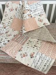 boho baby quilt baby girl quilts