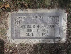 Adeline Cooper Donkin McDonough (1879-1960) - Find A Grave Memorial