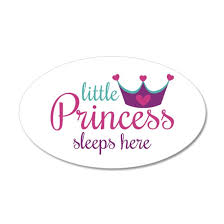 Little Princess Sleeps Here Wall Decal By Heather Rogers Designs Cafepress