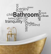 10 best ideas words on bathroom walls