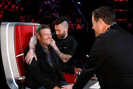 Blake Shelton Say He 'Couldn't Be Happier' About Adam Levine ...
