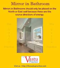 vastu and mirrors in 2020 bathroom