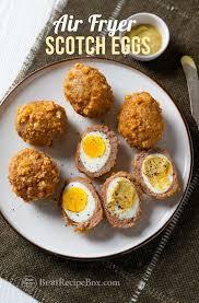 air fryer scotch eggs recipe low carb