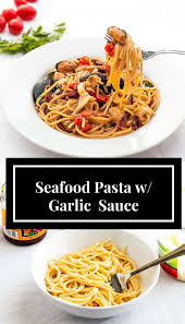 Seafood Pasta with Garlic and Sun-Dried ...