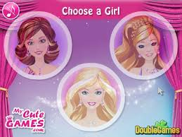 barbie and friends make up game