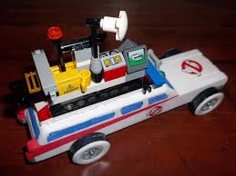 My Ghostbusters Ecto 1 Pinewood Derby Car