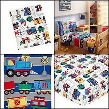kids toddler bedding full sets trains
