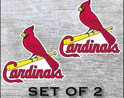 St Louis Cardinals Mlb Bird Logo Ball Car Bumper Sticker Decal 3 Or 5 Children S Bedroom Boy Decor Decals Stickers Vinyl Art Home Garden