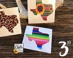Sale 3 Texas Decal Texas Pattern Vinyl Yeti Decal Etsy