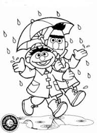 Kids N Fun Kleurplaat Sesamstraat Bert En Ernie Bert En Ernie