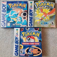 Getting closer to having all boxed Gen 1-3 Pokemon games! :D : Gameboy