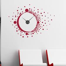 Style And Apply Big Bang Wall Clock Wall Decal Wayfair