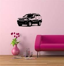 Amazon Com Wall Mural Vinyl Sticker Jeep Grand Cherokee A974 Kitchen Dining